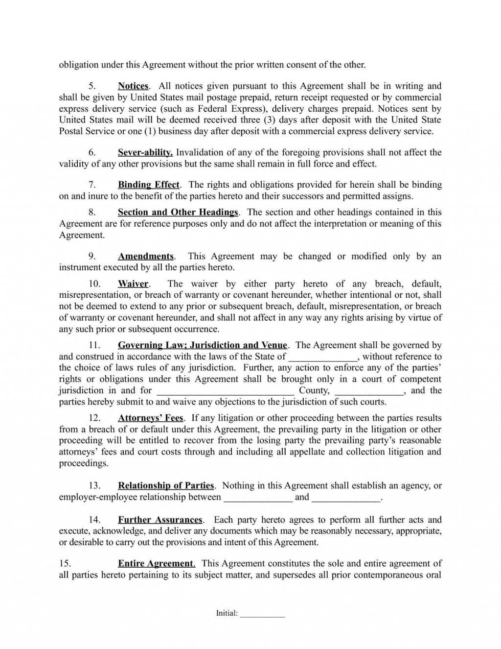 003 Wondrou Real Estate Partnership Agreement Template High Definition  Team InvestmentLarge