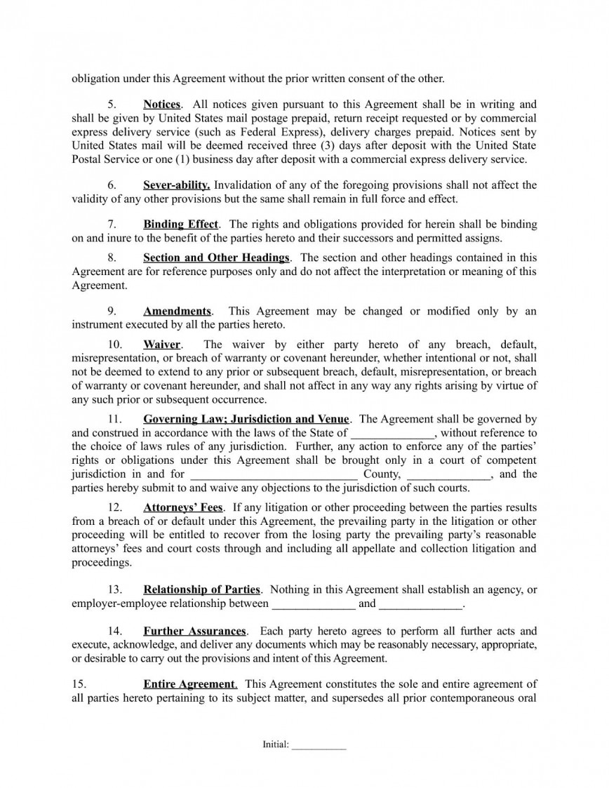 003 Wondrou Real Estate Partnership Agreement Template High Definition  Investment Team Free