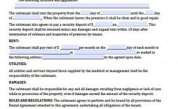 003 Wondrou Rental Agreement Template Word Free Highest Quality  Tenancy Shorthold