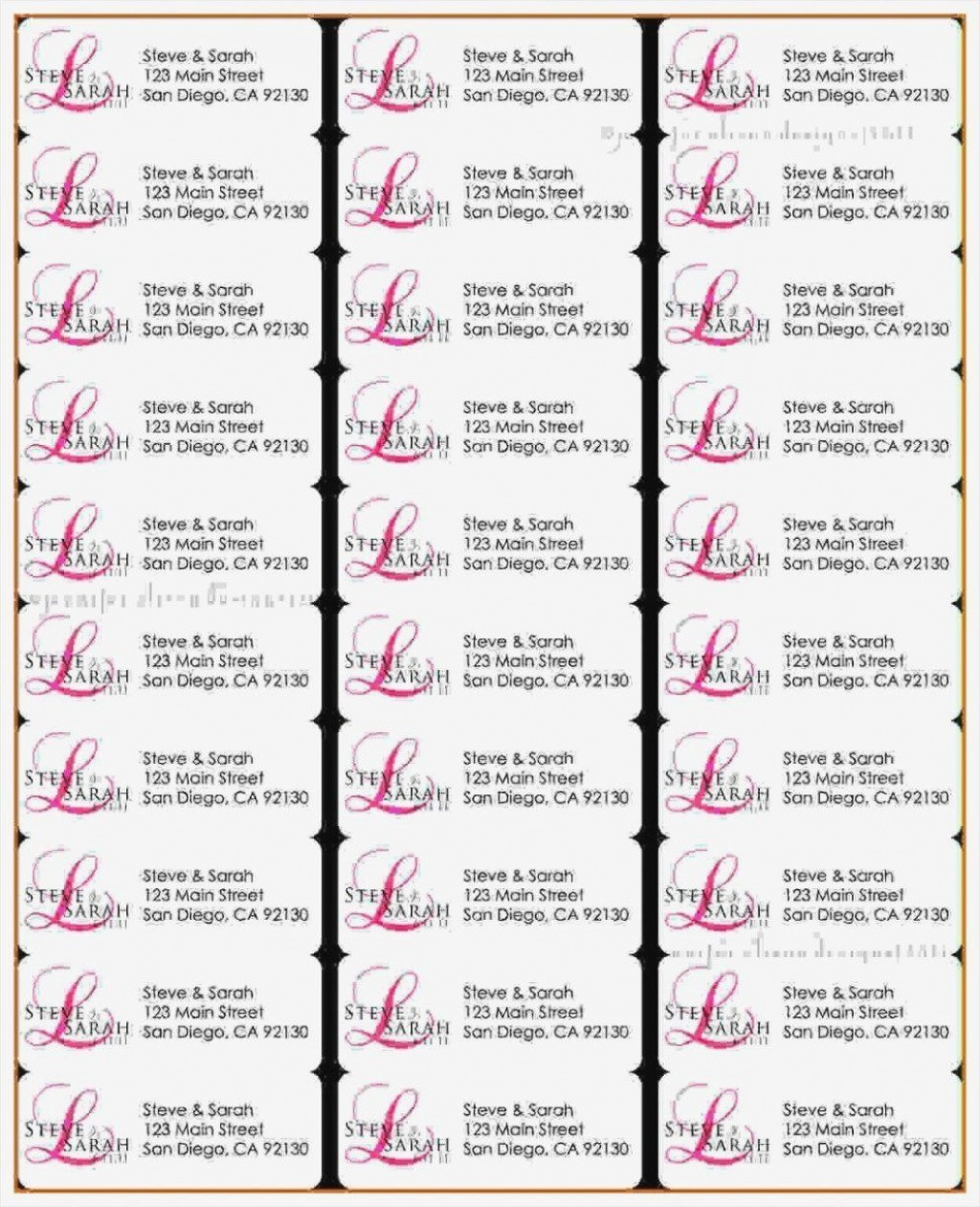 003 Wondrou Return Addres Label Template Sample  Google Doc Avery 80 Per Sheet Word FreeLarge