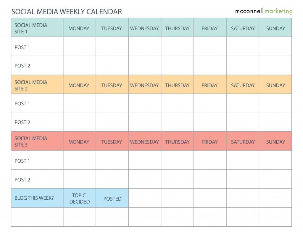 003 Wondrou Social Media Calendar Template Highest Quality  2020 Editorial Excel Free 2019 DownloadLarge