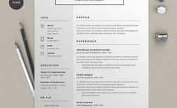 004 Amazing Best Free Resume Template 2020 Picture  Word Review