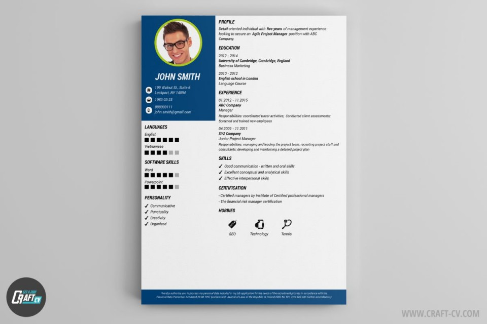004 Amazing Create Resume Online Free Template Image 960