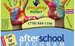 004 Amazing Free After School Program Flyer Template Inspiration