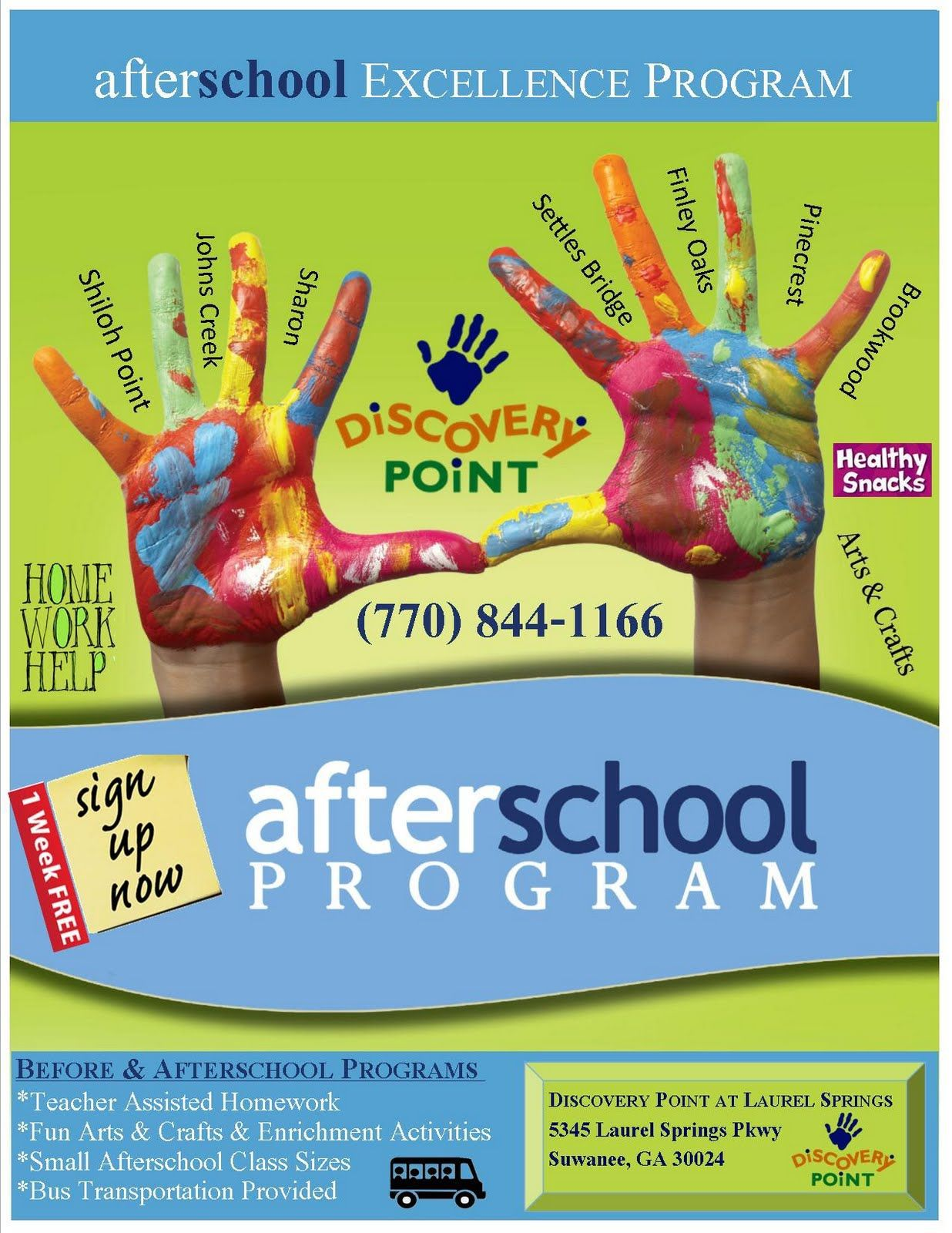 004 Amazing Free After School Program Flyer Template Inspiration Full