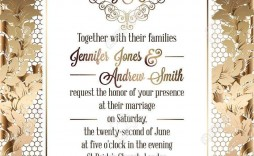 004 Amazing Free Download Formal Invitation Card Template High Def  Sample