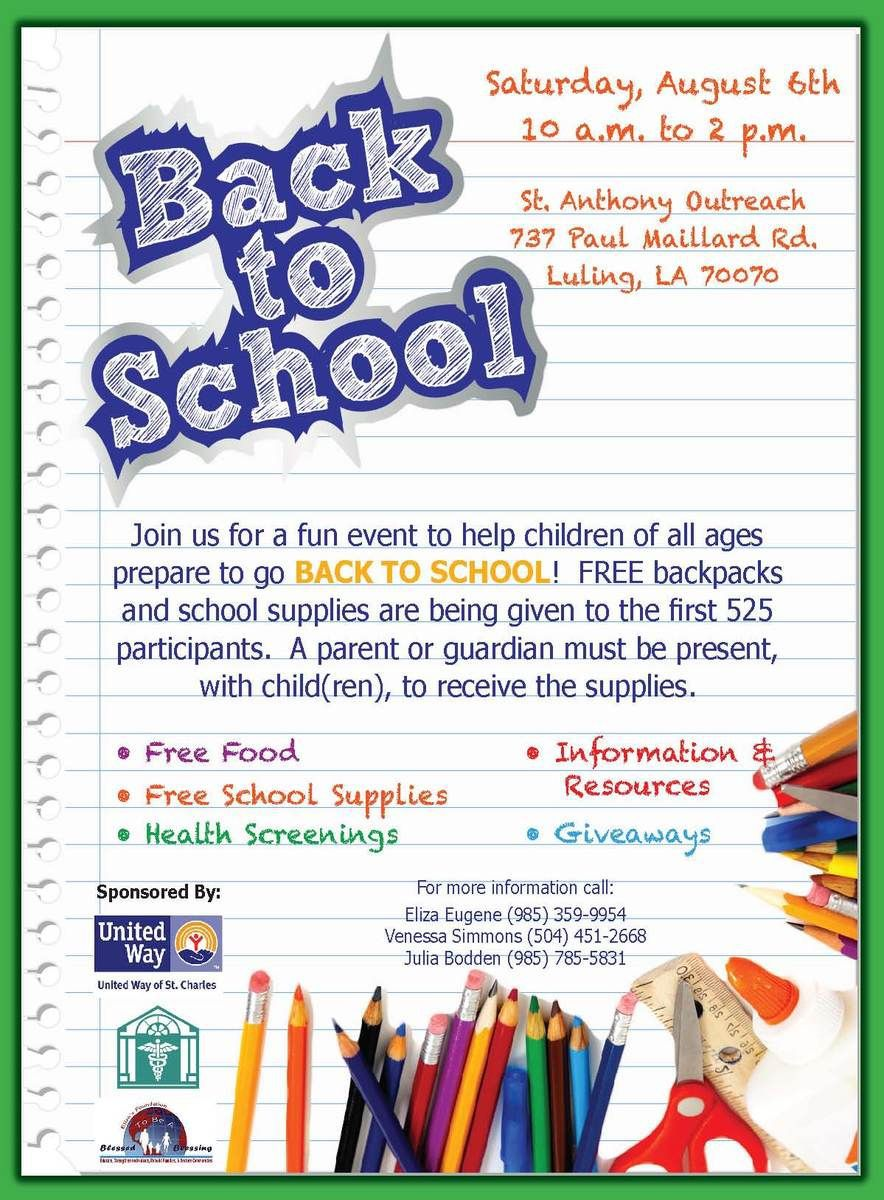 004 Amazing Free School Carnival Flyer Template Highest Quality  Templates DownloadFull