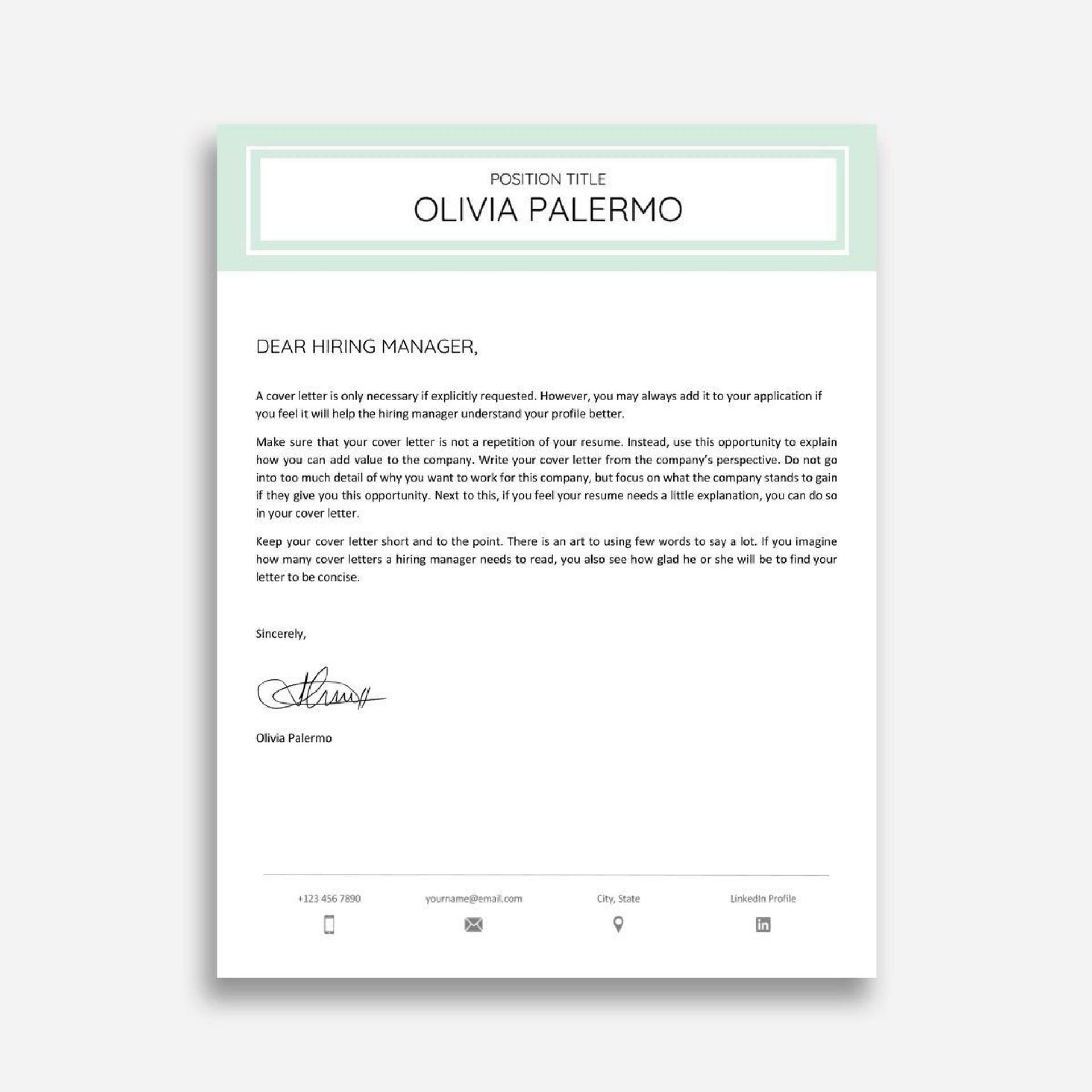 004 Amazing Google Doc Cover Letter Template Design  Swis Free Reddit1920