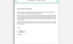 004 Amazing Google Doc Cover Letter Template Design  Swis Free Reddit