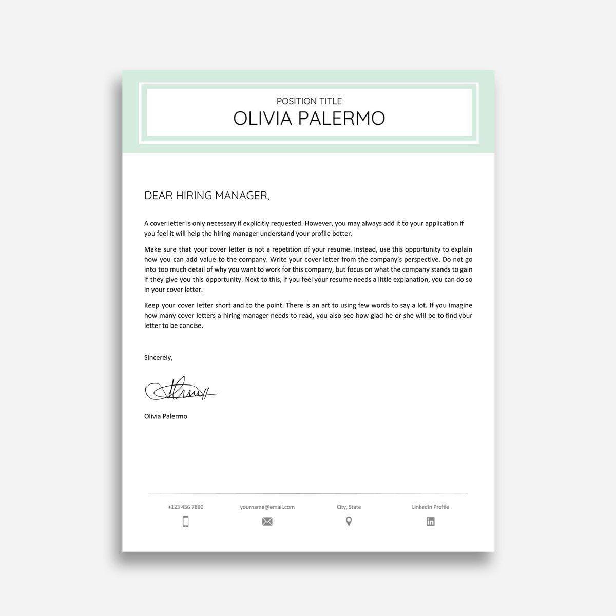 004 Amazing Google Doc Cover Letter Template Design  Swis Free RedditFull