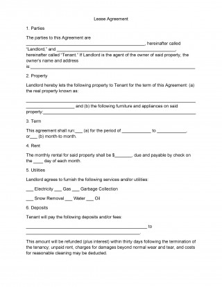 004 Amazing Housing Rental Agreement Template Free Highest Quality 320