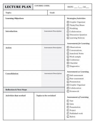 004 Amazing Lesson Plan Template Pdf Inspiration  Free Printable Format In English320