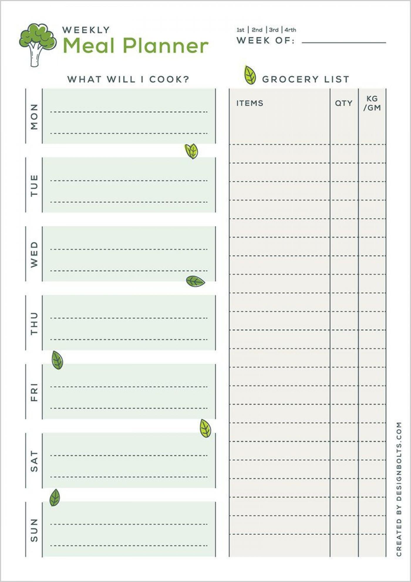 004 Amazing Meal Plan Printable Pdf Design  Worksheet Downloadable Template Sheet1400