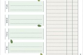 004 Amazing Meal Plan Printable Pdf Design  Worksheet Downloadable Template Sheet