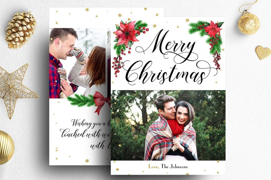 004 Amazing Photoshop Christma Card Template High Definition  Templates Free For Photographer Element