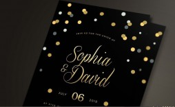 004 Archaicawful Black And Gold Invitation Template Highest Clarity  Design White Free Printable