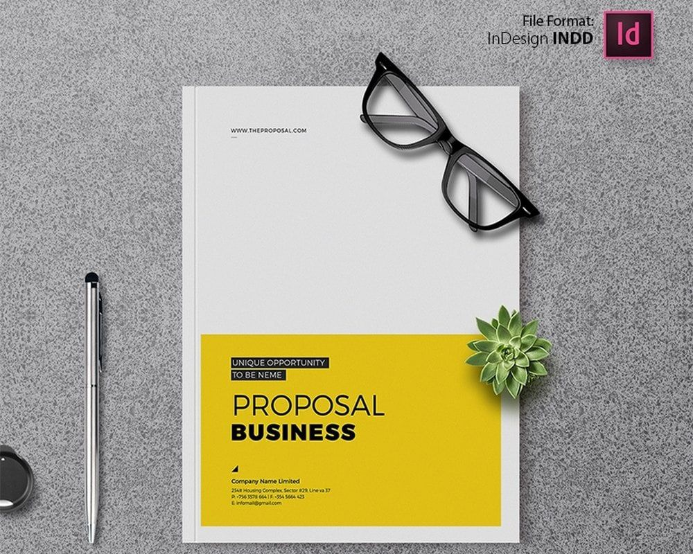 004 Archaicawful Busines Brochure Design Template Free Download Inspiration Full