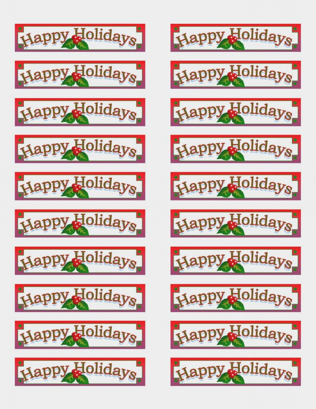 004 Archaicawful Christma Addres Label Template Example  Free Download Shipping CardLarge