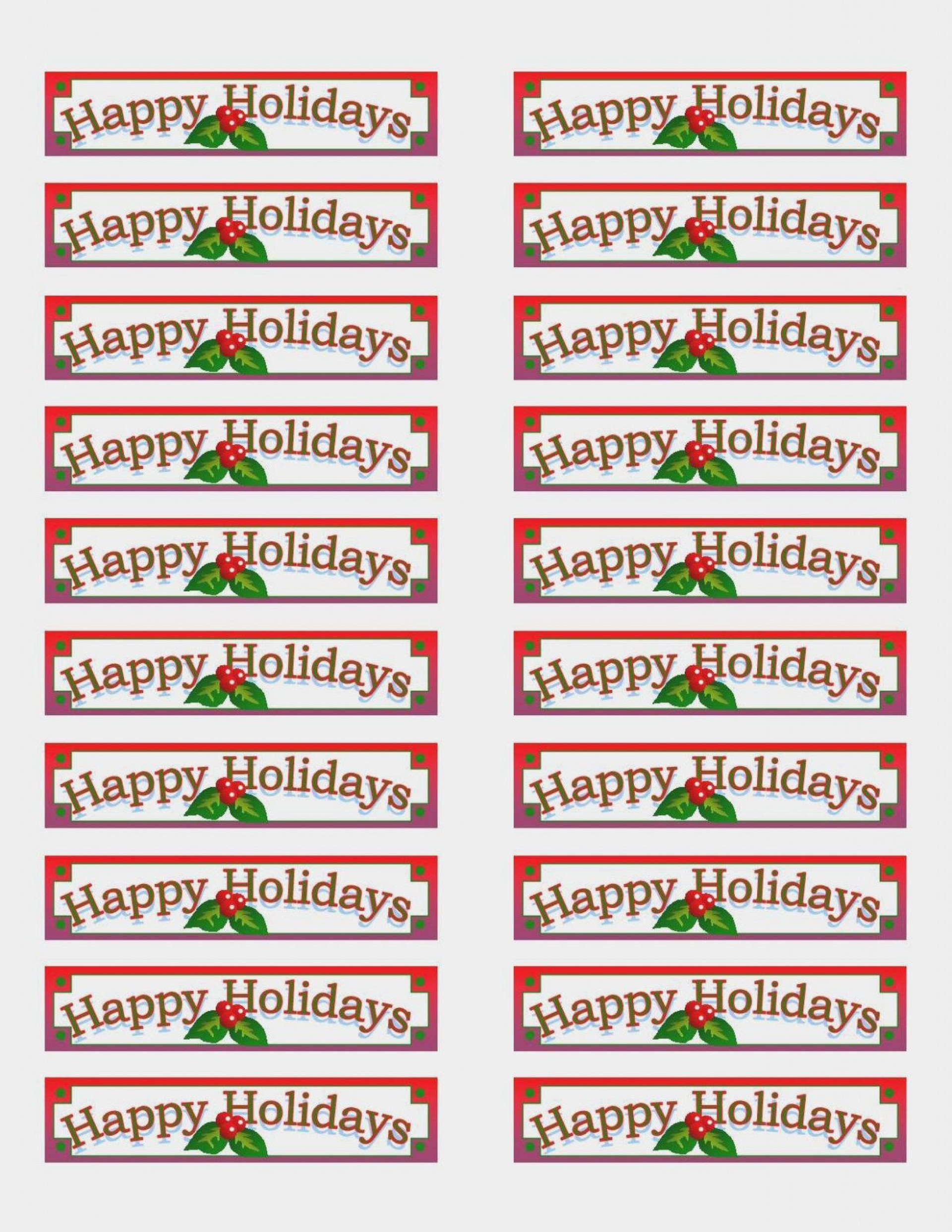 004 Archaicawful Christma Addres Label Template Example  Free Download Shipping Card1920