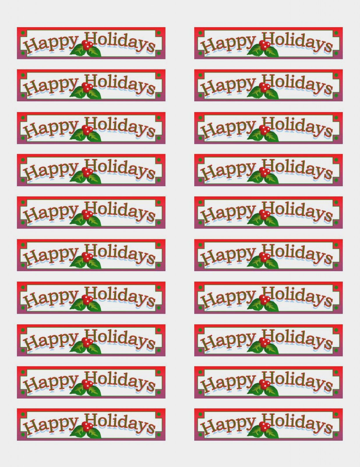 004 Archaicawful Christma Addres Label Template Example  Free Download Shipping CardFull