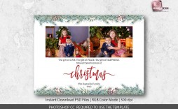 004 Archaicawful Christma Card Template Photoshop Image  Free Download Funny