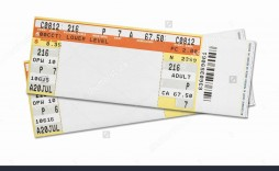 004 Archaicawful Concert Ticket Template Word Inspiration  Free Microsoft