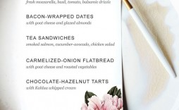 004 Archaicawful Dinner Party Menu Template Idea  Word Elegant Free Google Doc