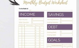004 Archaicawful Free Printable Home Budget Template Photo  Form Sheet