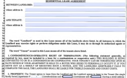 004 Archaicawful Generic Rental Lease Agreement Nj Design  Sample