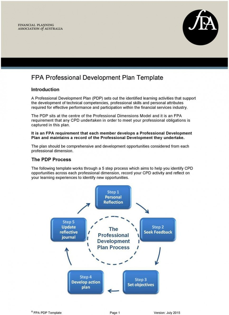 004 Archaicawful Personal Development Plan Template Free Gdc High Def 868