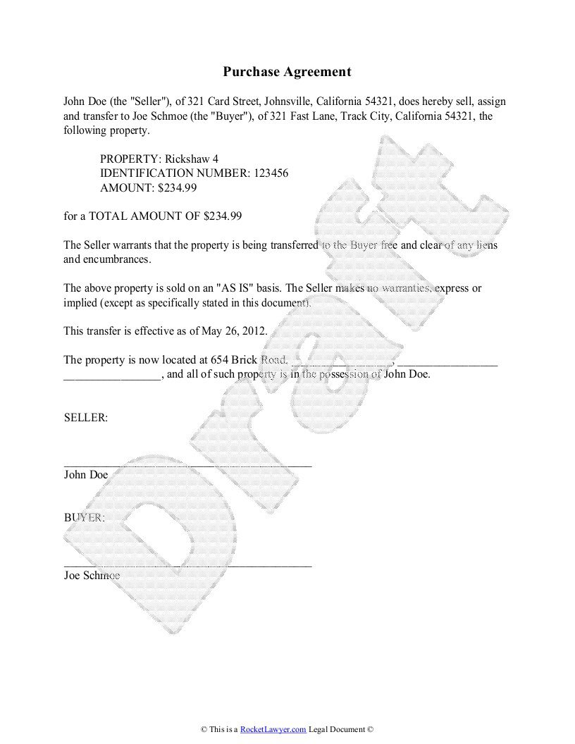 004 Archaicawful Purchase Sale Agreement Template Photo  Uk & Nz Free Busines AndFull