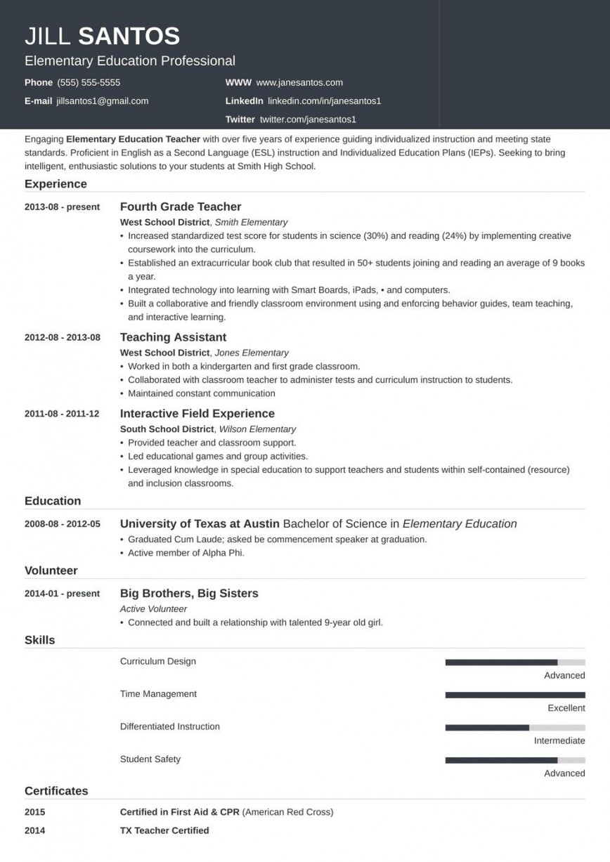 004 Archaicawful Resume Template For Teacher Highest Clarity  Australia Microsoft Word Sample868