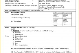 004 Archaicawful Siop Lesson Plan Template 1 High Def  Example First Grade Word Document 1st