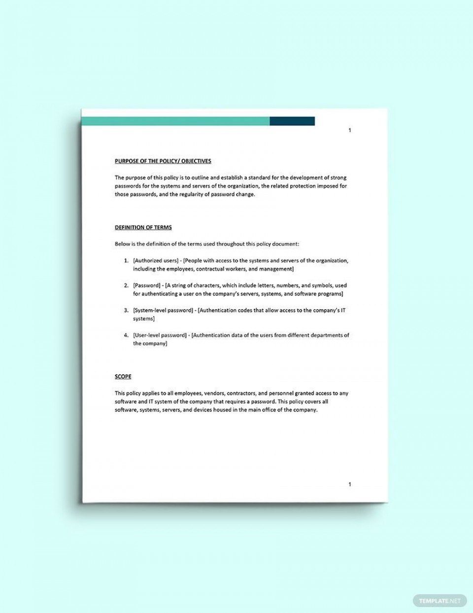004 Archaicawful Social Media Policy Template Idea  Free960