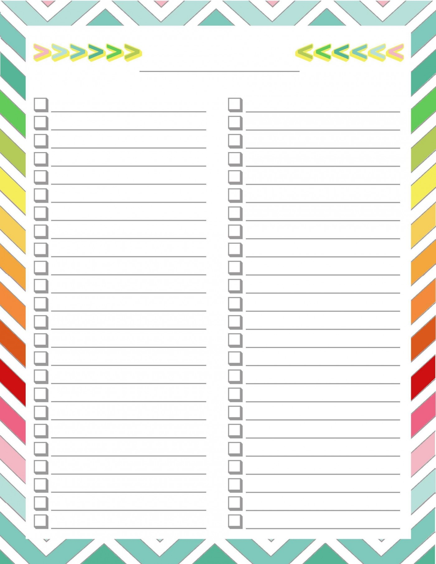 004 Archaicawful To Do Checklist Template Concept 1400