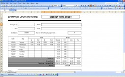 004 Archaicawful Weekly Timesheet Template Excel Concept  Simple Free