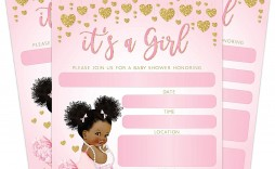004 Astounding Baby Shower Invitation Girl Princes Design  Princess Theme