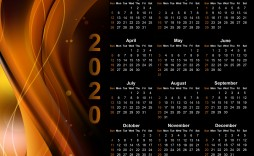 004 Astounding Calendar Template Free Download Picture  2020 Powerpoint Table Design 2019 Malaysia