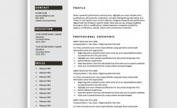 004 Astounding Easy Resume Template Free Highest Quality  Simple Download Online Word