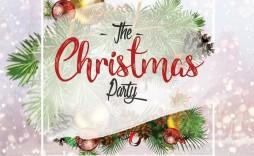 004 Astounding Free Christma Flyer Template Photo  Templates Holiday Invitation Microsoft Word Psd