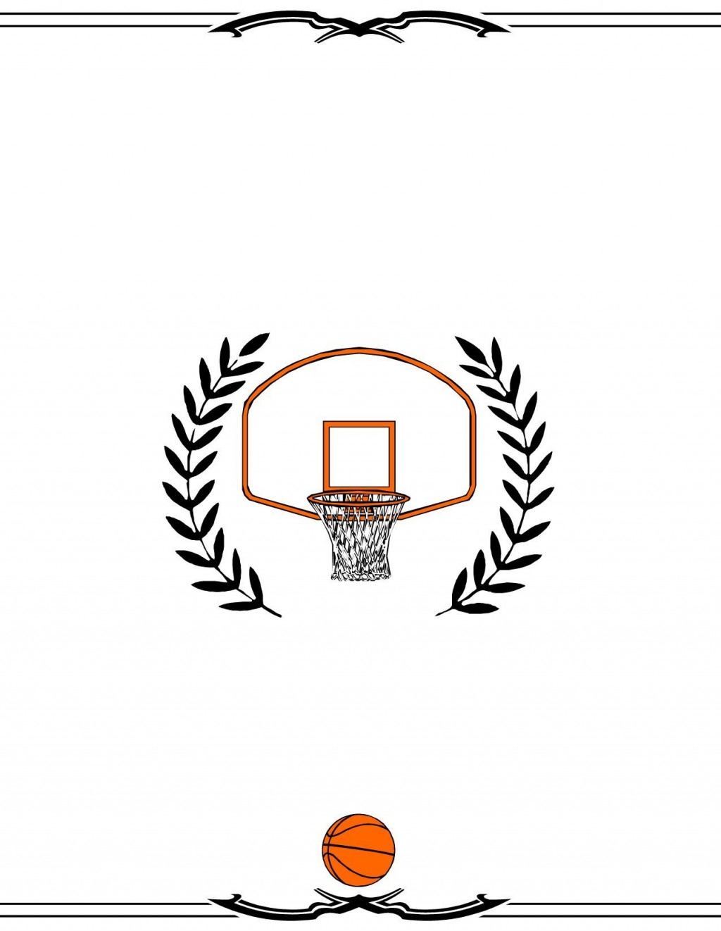 004 Astounding Free Printable Basketball Certificate Template Image  TemplatesLarge