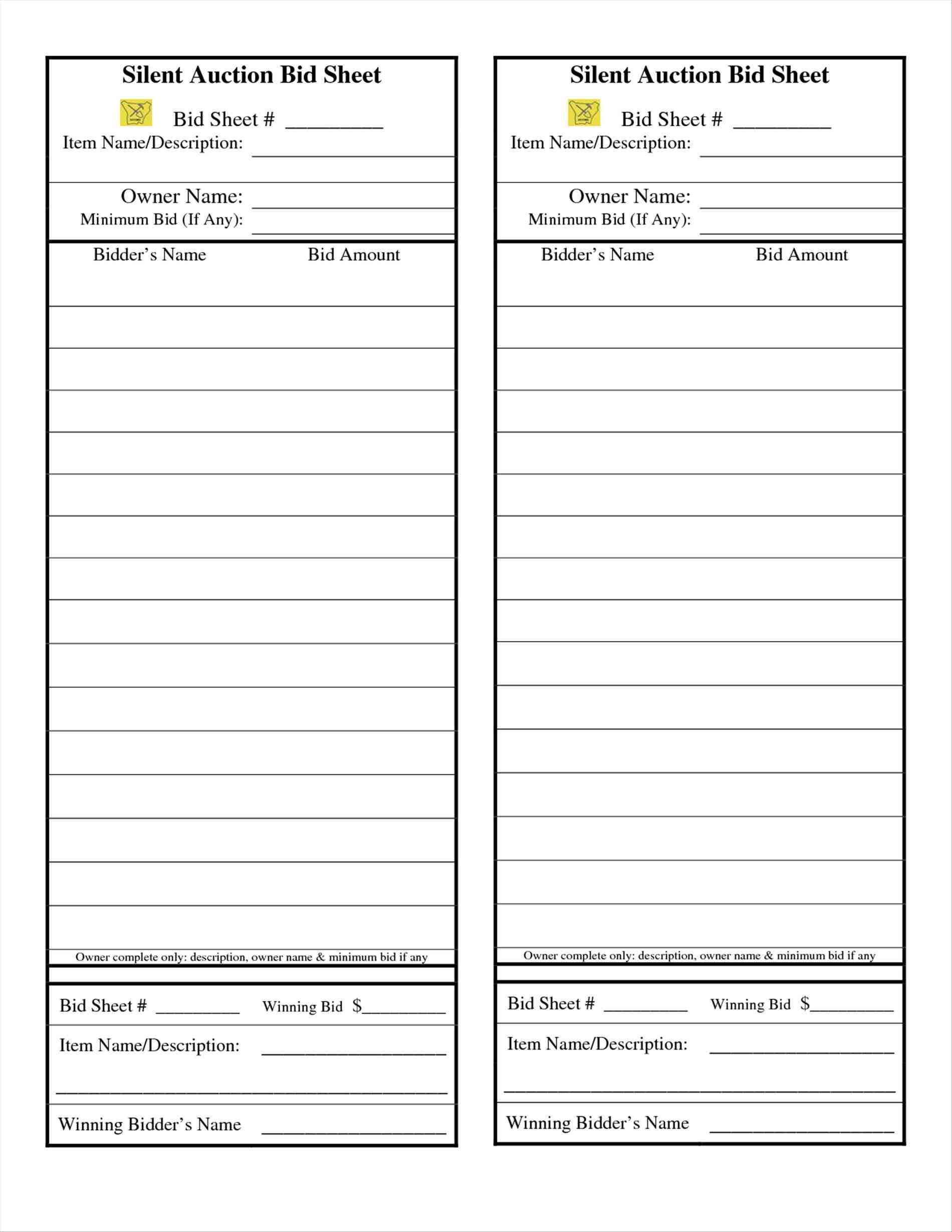 004 Astounding Free Silent Auction Gift Certificate Template Picture Full