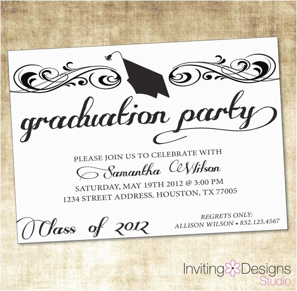 004 Astounding Graduation Party Invitation Template Design  Microsoft Word 4 Per PageLarge