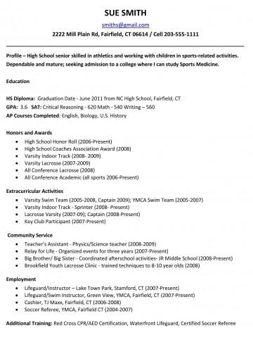004 Astounding High School Student Resume Template Idea  Free Google Doc360