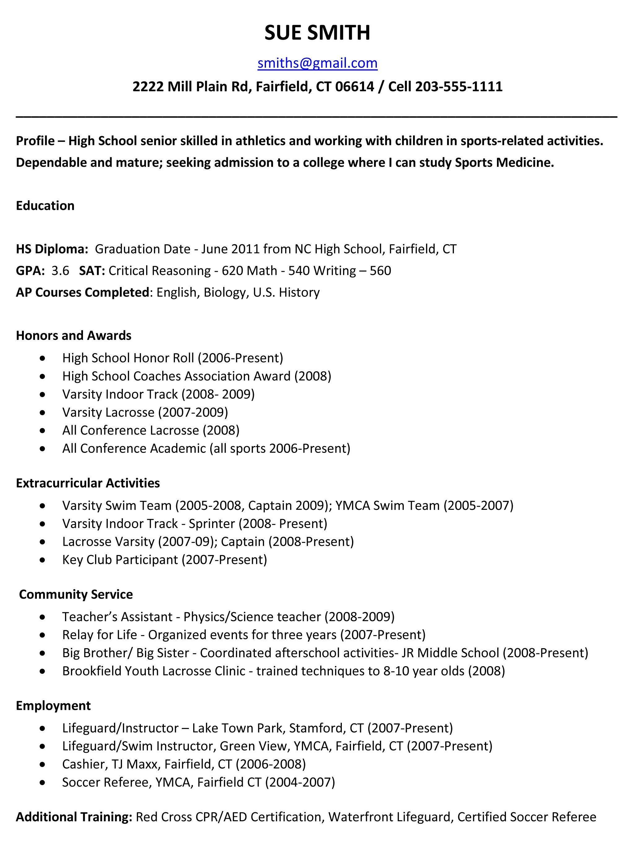 004 Astounding High School Student Resume Template Idea  Free Microsoft Word 2010Full