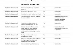 004 Astounding Home Inspection Checklist Template Highest Quality  New Form Free