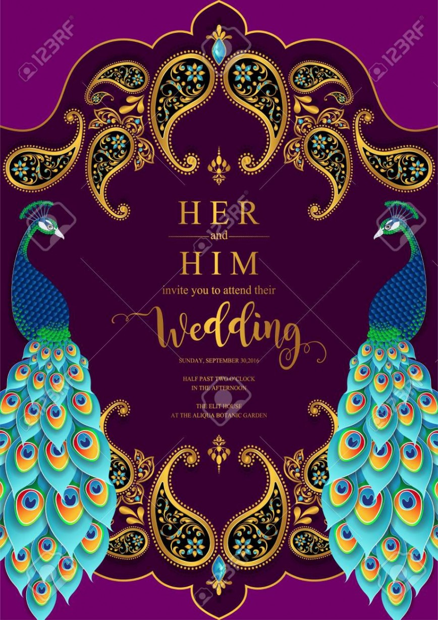 004 Astounding Indian Wedding Invitation Template Photo  Psd Free Download Marriage Online For Friend868