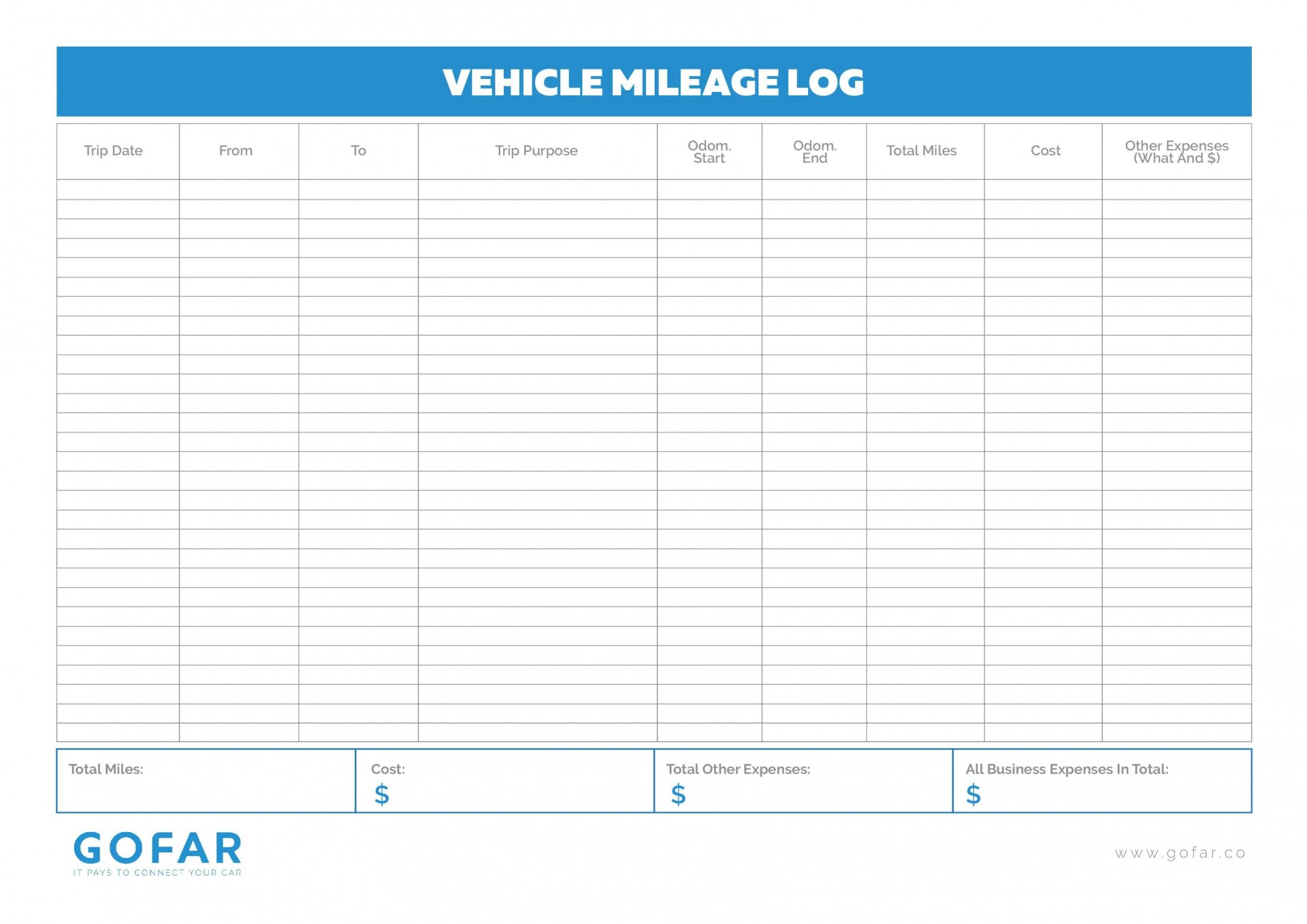004 Astounding Mileage Tracking Excel Template Photo 1920