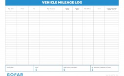 004 Astounding Mileage Tracking Excel Template Photo