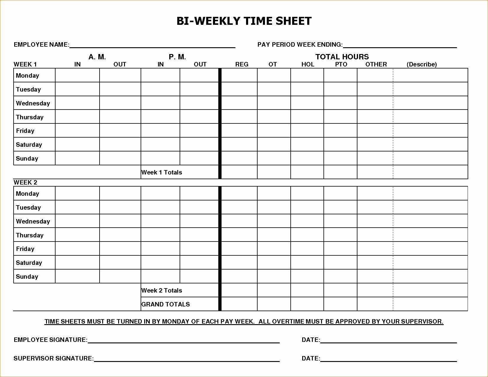004 Astounding Multiple Employee Time Card Template Example Full